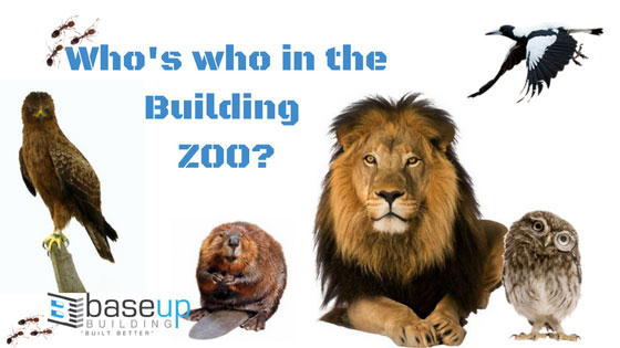Who's who in the Building Zoo!