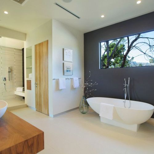 Stylish Modern Bathroom Design 4